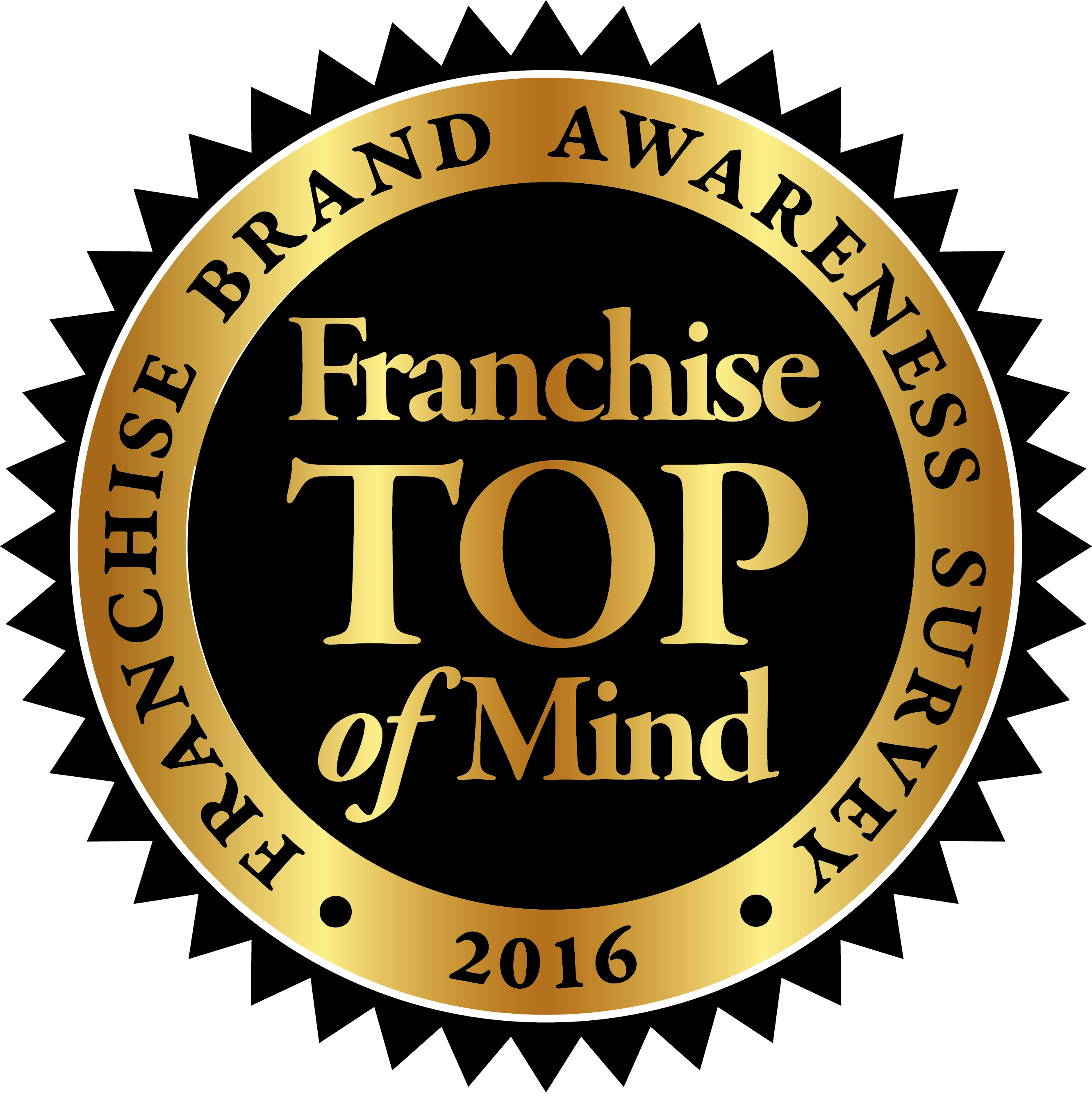 FRANCHISE TOP OF MIND 2016